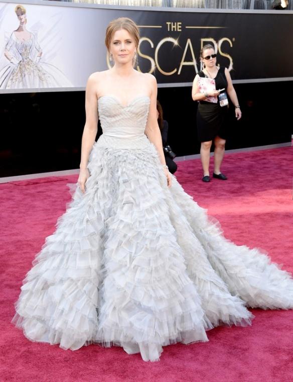 Amy Adams de Oscar de La Renta