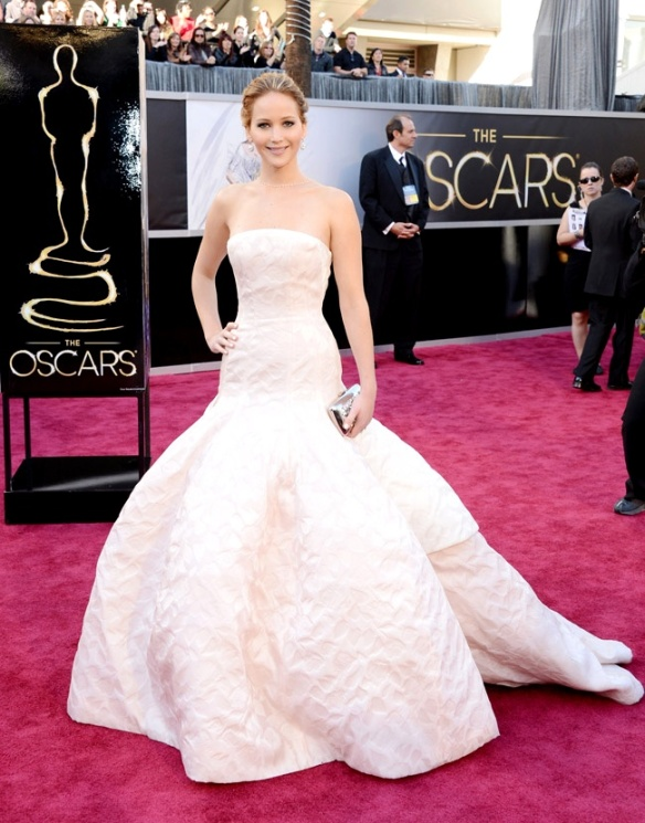 Jennifer Lawrence de Christian Dior