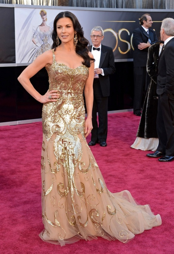 Catherine Zeta Jones de Zuhair Murad Couture