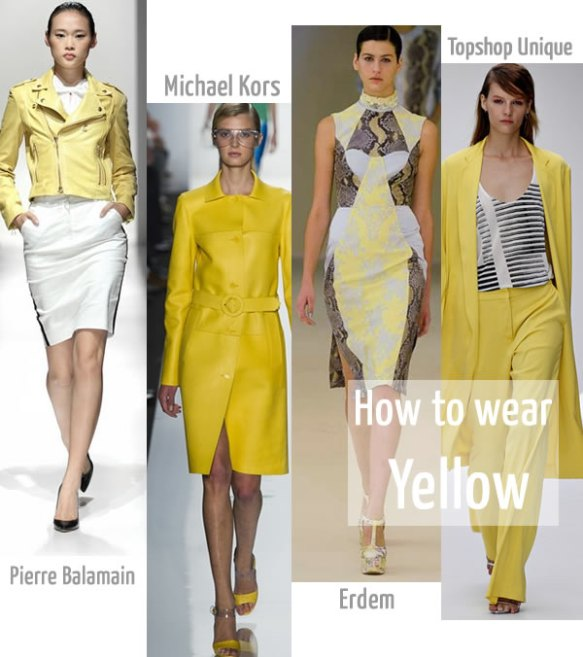 yellowonthecatwalk