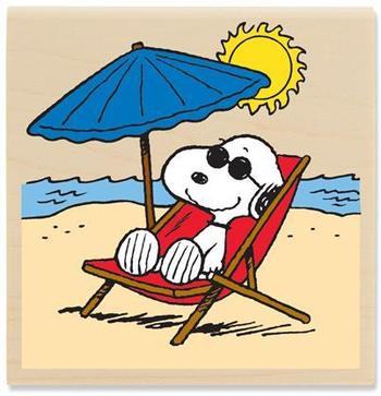 snoopy on vacation