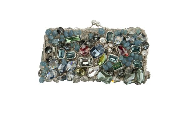 Kalina Rameiro - clutch feita à mão em fios de prata com cristais Swarovski - R$ 3.200 (1)