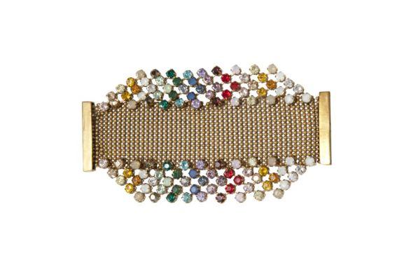 T Arrigoni - Pulseira feita com cristais Swarovski - R$ 652,50