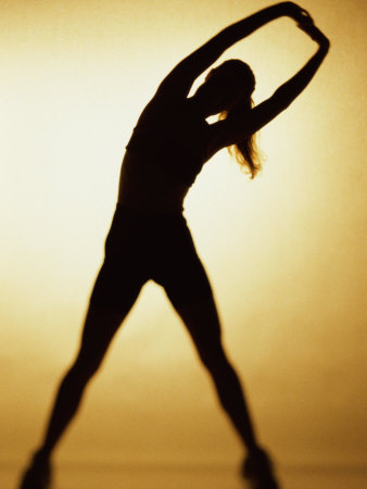 Active-woman-silhouette